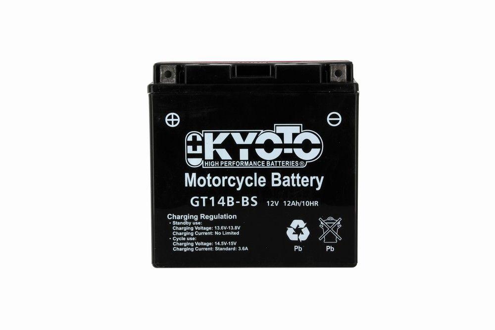kyoto yt14b bs batterie agm sans entretien livr e. Black Bedroom Furniture Sets. Home Design Ideas