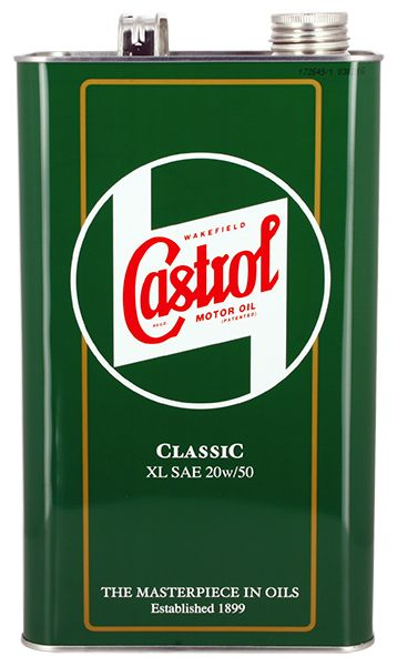 castrol huile 4t xl sae 20w50 classic 5l min rale cast1925g sifam. Black Bedroom Furniture Sets. Home Design Ideas