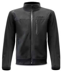 Blouson Moto Softshell - Noir - Protections CE - Taille L
