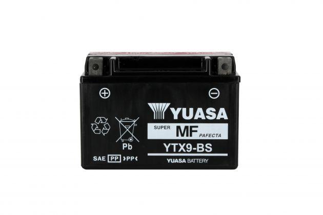 Batterie YTX9-BS AGM - Sans Entretien - Livrée Avec Pack Acide - 812090