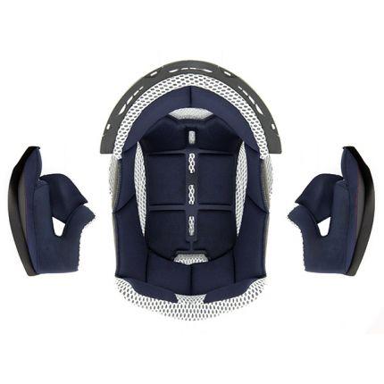 Intérieur Bleu pour Casque Enduro CRUX S789 - Taille M - CENAC04C