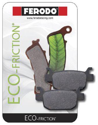Plaquette de Frein Organique Eco-Friction Route - FDB2105EF