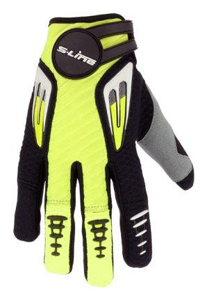 Gants Motocross Enfant Taille XS Jaune/Noir NON HOMOLOGUE C.E - GAN099KJXS