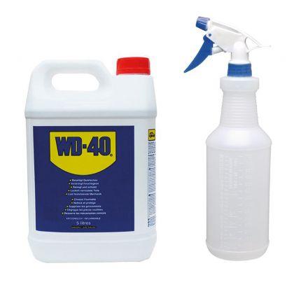 WD-40 5 Litres + SPRAYCD817 OFFERT - SPRAY49500-S